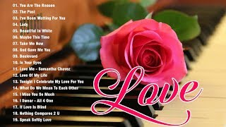 Most Old Beautiful Love Songs 70's 80's 90's 💕 Best Romantic Love Songs Of 80's and 90's