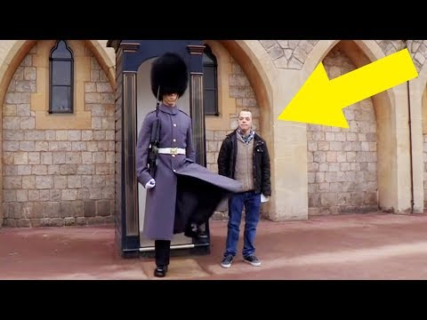 This Man With Down Syndrome Approached A Queen's Guard, And The Soldier's Response Was Startling
