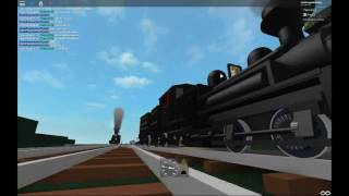 Roblox A Trip On The Cass Railroad part 1