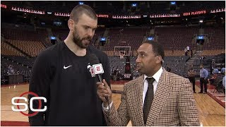 Stephen A breaks down Raptors win with Marc Gasol criticizes Bucks defense  2019 NBA Playoffs