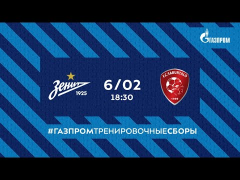 Zenit Petersburg Saburtalo Tbilisi Goals And Highlights