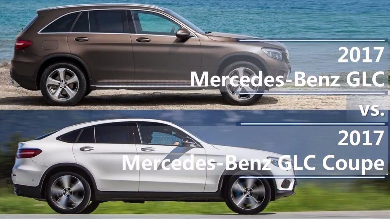 2017 Mercedes Benz GLC Vs 2017 Mercedes Benz GLC Coupe