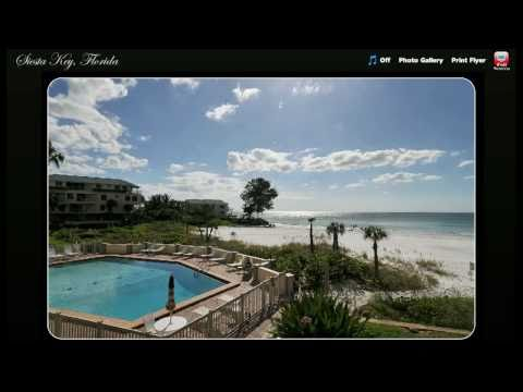 Siesta Key Condo For Sale | Sarasota | Florida | 2Bed/2Bath Gulf and Beach Front | $599,000