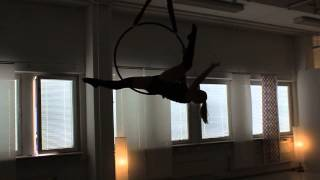 Aerial Hoop by Pinja, Vertical Club 2014