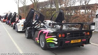 16x McLaren F1 GTR Insanely EPIC Exhaust Sound!