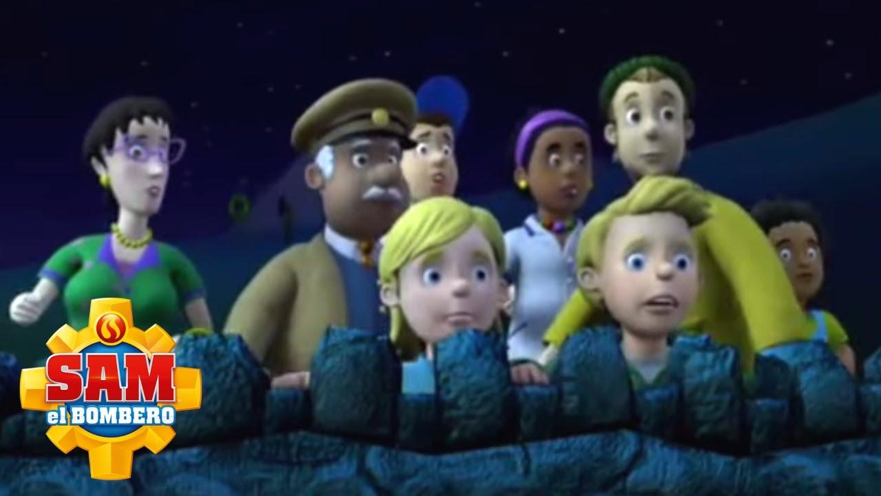 El Bombero Sam 🌟 Fiesta en el cuartel | Dibujos animados