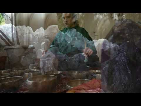 Amethyst Meditation/60 Min/#4 Of 5 W/Tiny Tibetan Singing Bowls