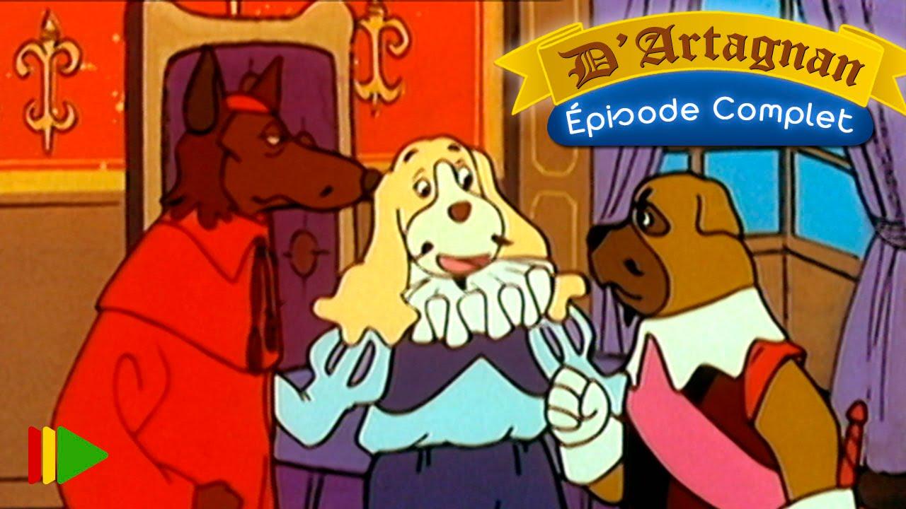D'artagnan dessin animé episode 7