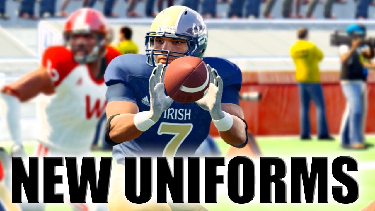 1c53dae4a NCAA Football 13 New Uniforms Released - Adidas Strategy Pack 2 - YouTube