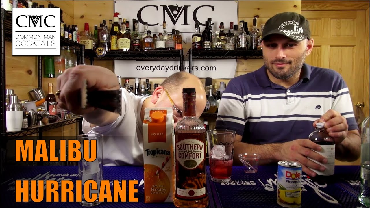 malibu hurricane with malibu coconut rum youtube malibu hurricane with malibu coconut rum