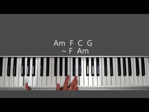 Oceans Hillsong How To Play On Piano Youtube