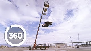 Vacuum Car Lift | MythBusters (360 Video)