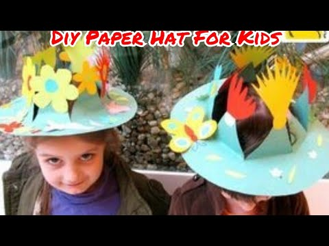 Origami Hat | How to make Paper Hat Step by Step at Home Easy to Wear on Birthday Party for Kids
