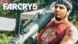Мэддисон играет в Far Cry 5 - НИКАКОЙ ПОДТАСОВКИ, ВСЕ ПО-ЧЕСТНОМУ