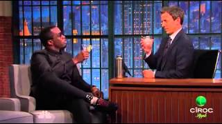 Ciroc Apple - Seth Meyers and Diddy Toast (Dec 2015)