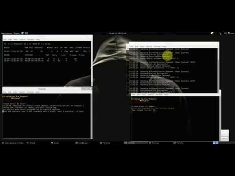Wireless wep Auto Script Crack Networks