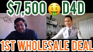 Gambar cover how to get your first real estate wholesale deal #37 | $7,500 from driving for dollars