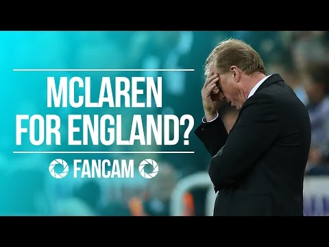 Steve McClaren....Next England Boss? - Soccer AM Fanzone: Spurs 1-2 Newcastle