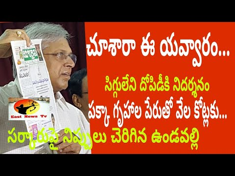 #Vundavalli Aruna Kumar totall speech#east news tv#