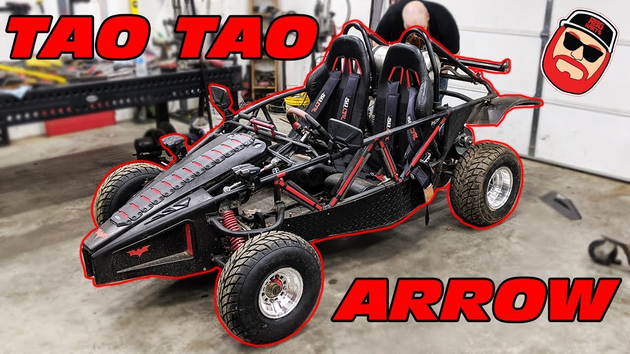 Tao Tao Arrow Go Kart Ep1 ~ Swing Arm Build