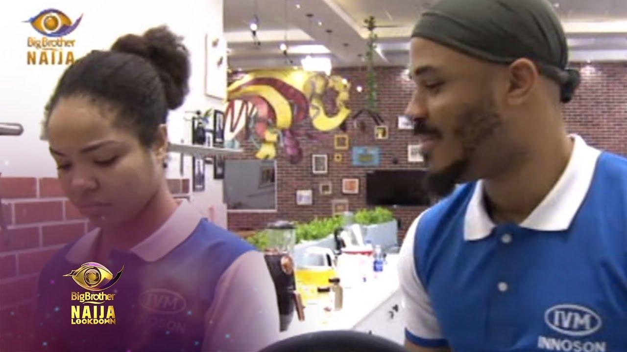 Day 59: Ozo pranks Nengi   Big Brother: Lockdown (VIDEO)