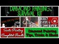 Diamond Painting Survival Kit ~ Tips, Tricks & Hacks ~ Product & Painting Reviews ~ DiamondTube #107
