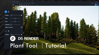 D5 Render Plant Tool  | Asset Library/Brush/Scatter/Eraser
