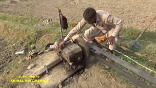punjab-village-peter-diesel-engine-start-up-tube-well-technology-in-punjab