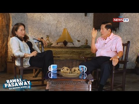 Bawal ang Pasaway: Former Senator Juan Ponce Enrile comments on the Duterte administration