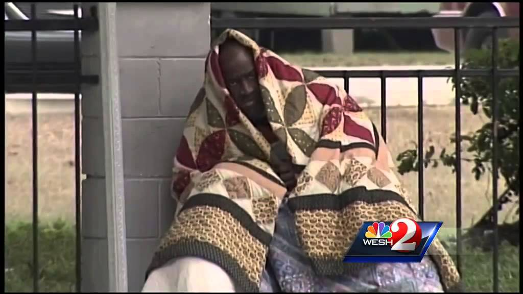 Cold-weather shelters in Central Florida