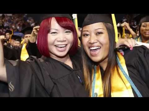 College of Social Sciences and Interdisciplinary Studies' Spring Commencement