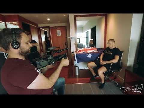 Luke Jackson raw interview (Belfast)