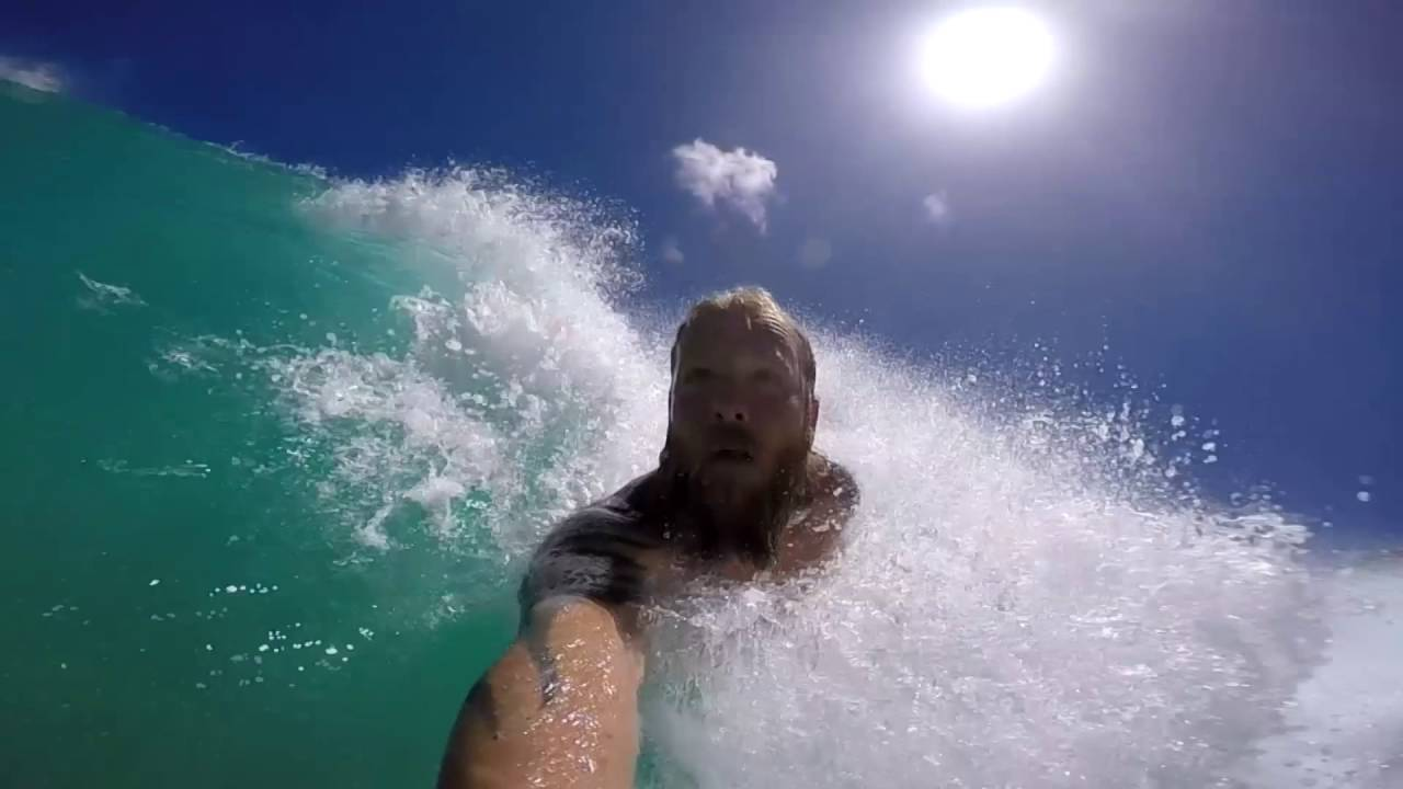 Sandy Beach Bodysurfing