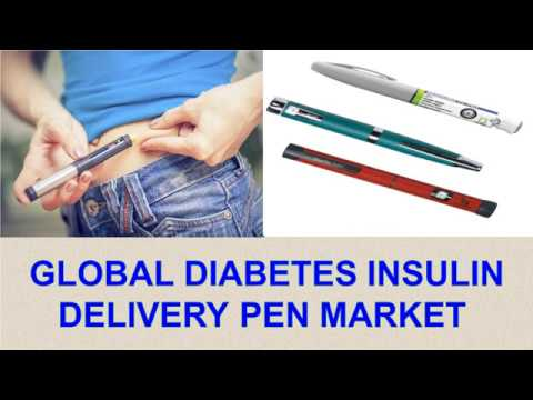 Global Diabetes Insulin Delivery Pen Market Analysis, Trends, And Forecasts To 2026