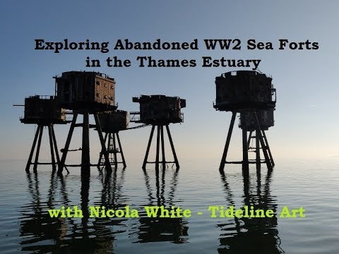 Visit to the Abandoned WW2 Sea Forts in the Thames Estuary