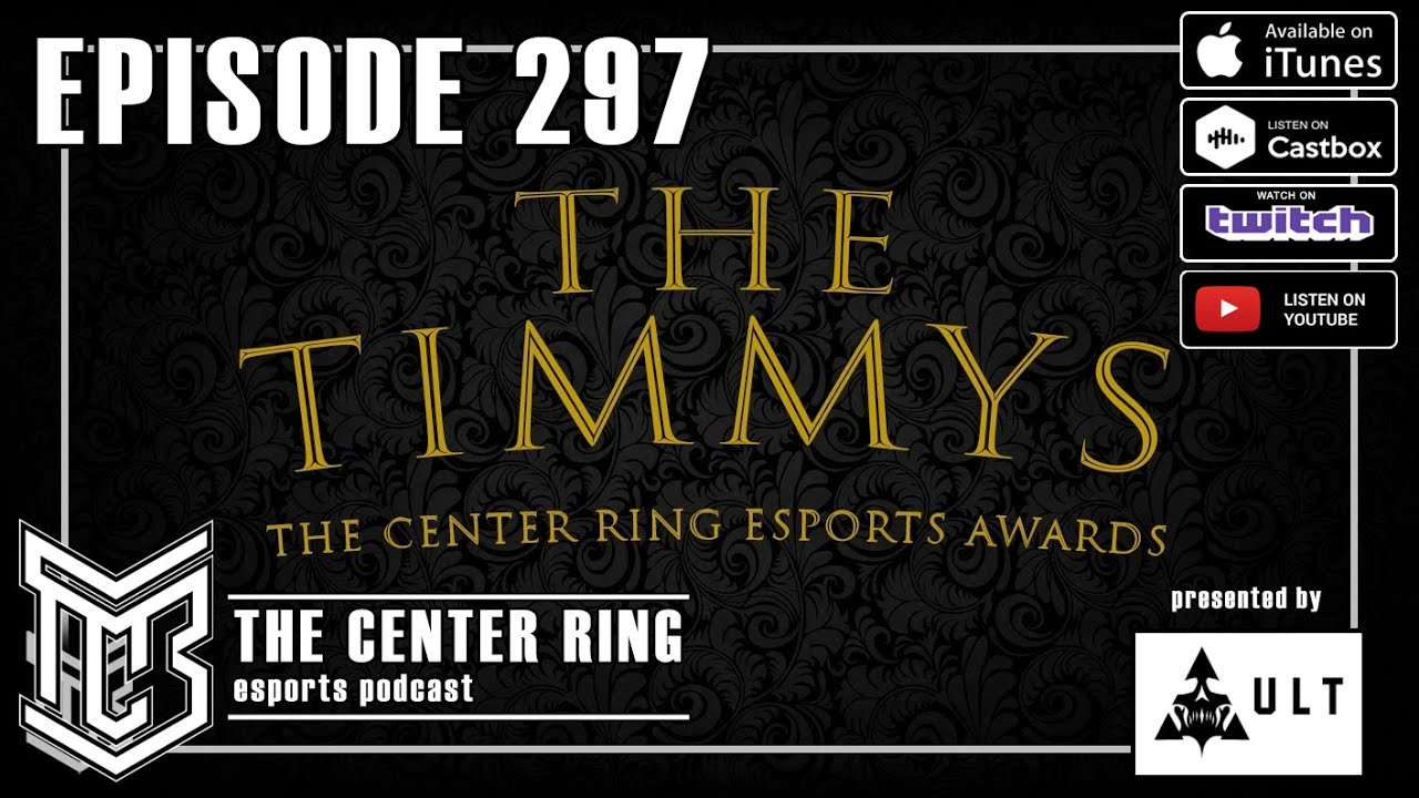 297: 2nd Annual The Center Ring Esports Awards - The Timmys - 2020