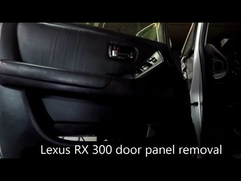 Lexus RX 300   door panel removal
