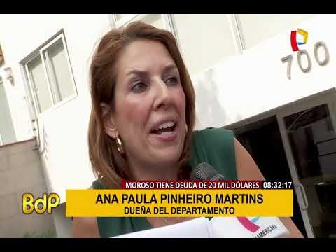 Miraflores: propietaria denuncia que inquilino le debe 20 mil d�lares de renta