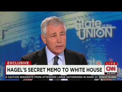 Chuck Hagel on fighting ISIS: 'There is no military solution'