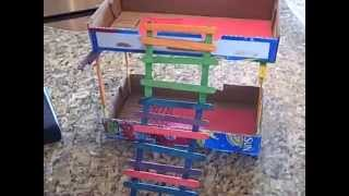 Dollhouse Bunk Bed For Barbies And Monster High Dolls