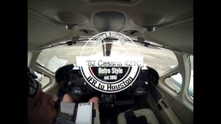 Cessna 421C Golden Eagle/IFR to Interior Shop/ATC Audio