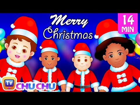 Thumbnail: Spirit of Christmas | Christmas Children's Songs & Surprise Eggs for Kids | ChuChu TV Jingle Bells