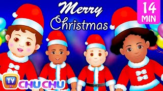 Spirit of Christmas | Christmas Children's Songs & Surprise Eggs for Kids | ChuChu TV Jingle Bells