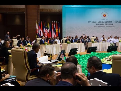 President Obama Addresses the U.S.-ASEAN Summit Meeting