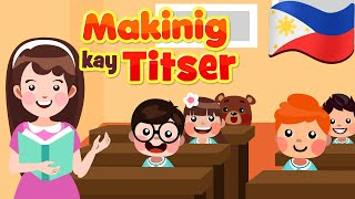 Makinig Kay Titser | Flexy Bear Originals Filipino Teacher Song | Awiting Pambata
