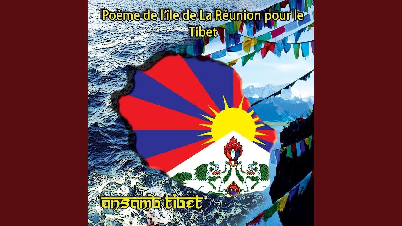 Poème De Lîle De La Réunion Pour Le Tibet