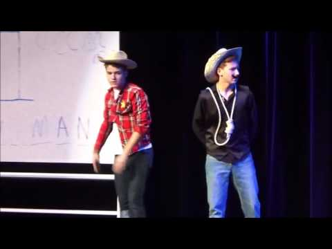 A Literal Game of Hangman- Sycamore High School Variety Show 2016