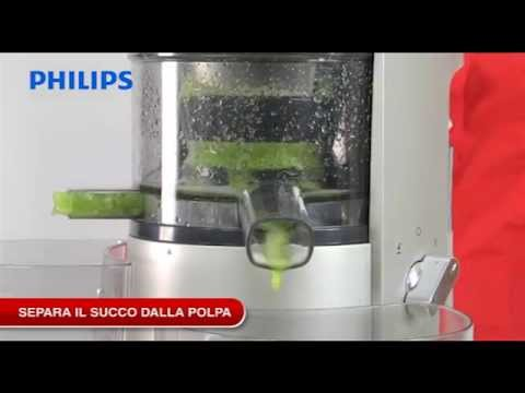 Philips Slow Juicer Demo : Philips Slow Juicer - YouTube