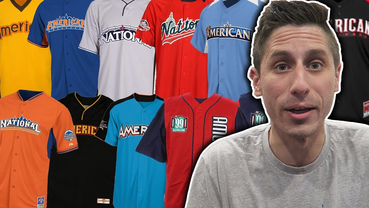 419c8c840a145b Ranking EVERY MLB All Star Game Jersey - YouTube