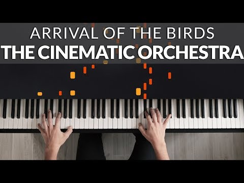 The Theory Of Everything - Arrival Of The Birds (The Cinematic Orchestra) | Piano Cover Tutorial